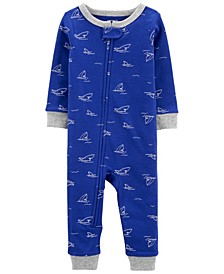 Toddler Boys Snug Fit Cotton Footed Pajama
