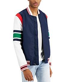 Men's Varsity Jacket, Created for Macy's