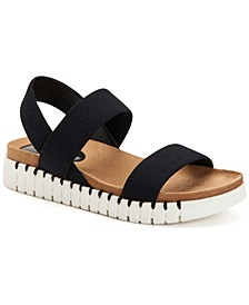 Milaa Stretch Flat Sandals, Created for Macy's