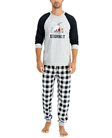 Matching Men's Sleighing It Family Pajama Set