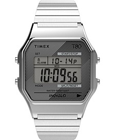Unisex Lab Archive Silver-Tone Stainless Steel Bracelet Watch 34mm