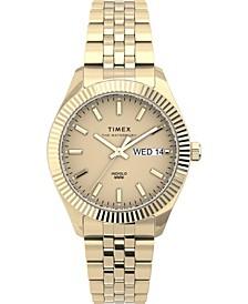 Women's Waterbury Boyfriend Gold-Tone Stainless Steel Bracelet Watch 36mm
