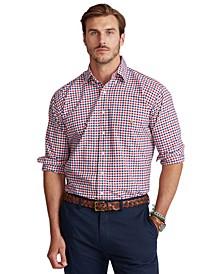 Men's Big & Tall Cotton Oxford Shirt