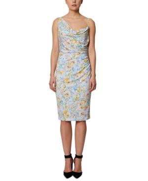 Asymmetrical Bodycon Midi Dress