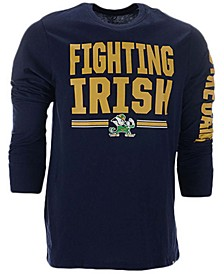 Notre Dame Fighting Irish Men's Loud and Proud Super Rival Long Sleeve T-Shirt