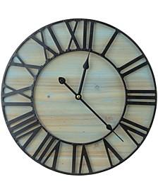 Large Decorative Round Wall Clock