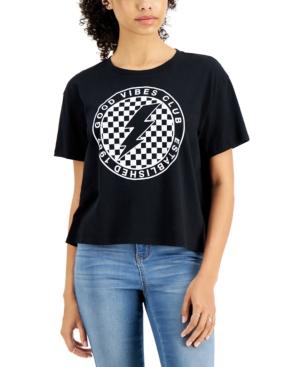 Juniors' Good Vibes Club T-Shirt