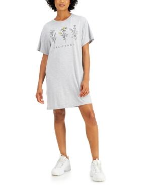 Juniors' California T-Shirt Dress