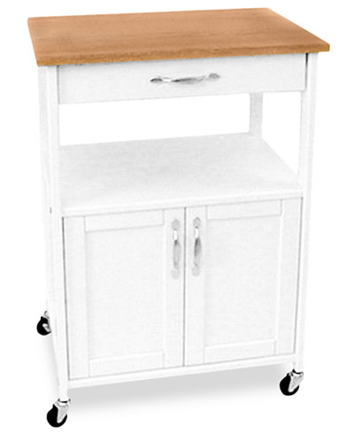 Catskill Kitchen Cart, Trolley - Cutlery & Knives - Kitchen - Macy\'s