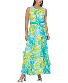 Tie-Dyed Maxi Dress