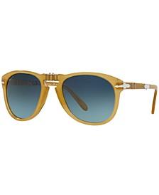 Men's Polarized Sunglasses, PO0714SM 54