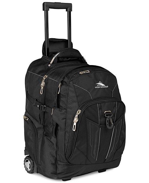 High Sierra XBT Rolling Laptop Backpack - Backpacks - Luggage - Macy s fe0cf8bba7faa