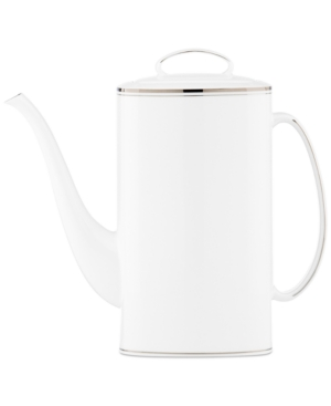 kate spade new york Library Lane Platinum Coffee Pot