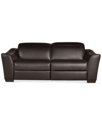 Alessandro Leather Sectional Sofa with 2 Power Recliners with Articulating Headrests Created for Macyu0027s. Furniture  sc 1 st  Macyu0027s & Alessandro Leather Sectional Sofa with 2 Power Recliners with ... islam-shia.org