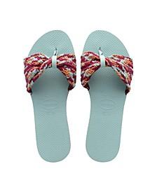 Women's You St. Tropez Flip Flop Mesh Sandals