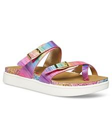 Big Girls Slip-on Sandal