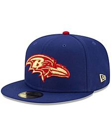 Baltimore Ravens Americana 59FIFTY Cap