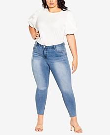Trendy Plus Size Harley Crush Skinny Jeans