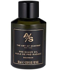 The Pre-Shave Oil, Bourbon, 2 Fl Oz