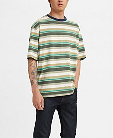 Men's Oversized Short Sleeve Logo T-shirt