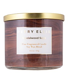 Sandalwood Sage Candle, 14.5 oz