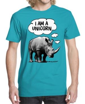 Men's Rhino Unicorn Graphic T-shirt