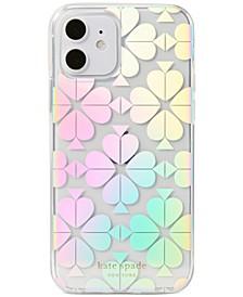 Spade Flower Iridescent Phone Case 12/12 Pro