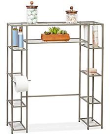 5-Tier Steel Over-the-Toilet Storage Shelf
