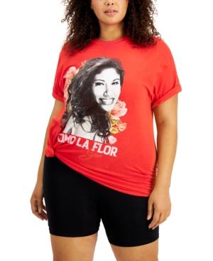 Trendy Plus Size Como La Flor T-Shirt