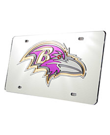 Rico Industries Baltimore Ravens License Plate