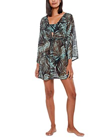 Palmetto Paradise Cover-Up Dress