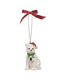 Christmas Tree Christmas Cat Ornament