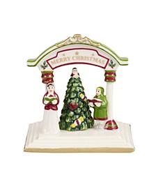 Christmas Tree Figural Carolers Statue