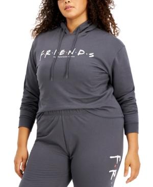 Trendy Plus Size Friends Hoodie