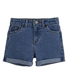 Little Girls Americana A-Line High Rise Shorts
