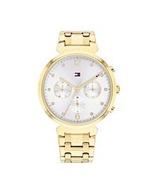 Women's Gold-Tone Stainless Steel Bracelet Watch 38mm