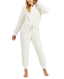 Sherpa Union Suit, Created for Macy's