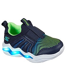 Toddler Boys Sports Lighted - Erupters IV Zandor Slip-On Running Sneakers from Finish Line