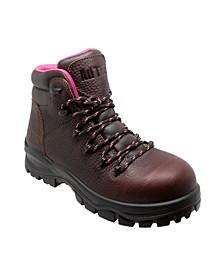 Women's Cap Toe Work Boots