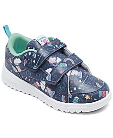 Toddler Girls Reebok Clasp Peppa Pig Stay-Put Casual Sneakers from Finish Line