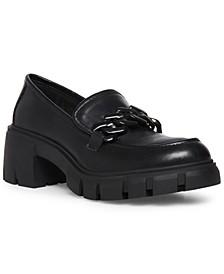 Hoxton Chain Lug Loafers