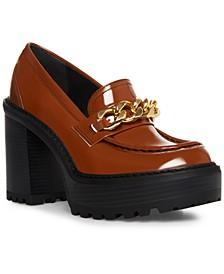 Kassidy Platform Lug Sole Loafers