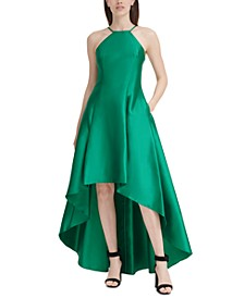 Halter High-Low Gown