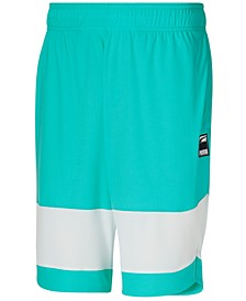 Men's Ultimate Regular-Fit Moisture-Wicking Colorblocked Shorts