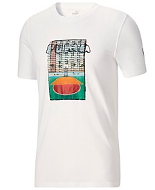 Men's Logo Graphic Basketball T-Shirt