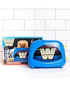 WWE Retro Logo 2-Slice Toaster- Toasts World Wrestling Logo onto Your Toast