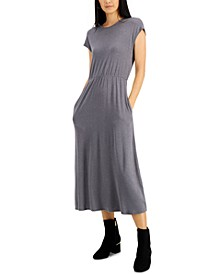 Cap-Sleeve Midi Dress, Created for Macy's