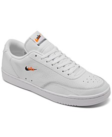 Men's Court Vintage Premium Casual Sneakers from Finish Line