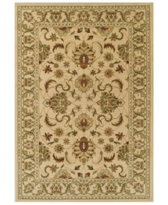 CLOSEOUT! St. Charles STC45 Ivory 3' x 5' Area Rug