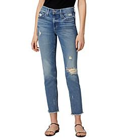 Lara Frayed Ankle Jeans